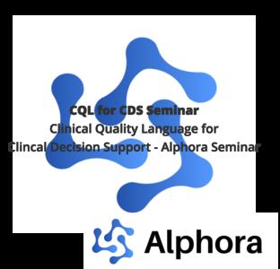 Alphora CQL for CDS Seminar Logo with Course Name